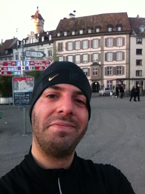 Selfie in Schaffhausen