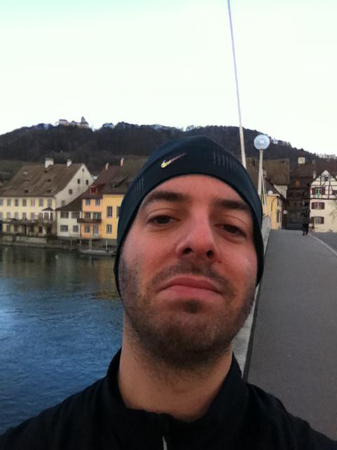 Selfie in Stein am Rhein